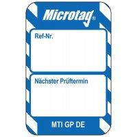 Nächster Prüftermin - Scafftag® Microtag Einsteckschilder