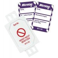Maximallast-Angabe / Nächster Inspektionstermin - Scafftag® Microtag Einsteckschilder-Set