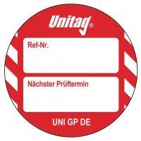 Nächster Prüftermin - Scafftag® Unitag Einsteckschilder