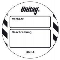 Ventil-Nr. - Scafftag® Unitag Einsteckschilder