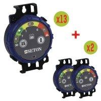 SETON Prüf-Timer Vorteilspack 13 + 2