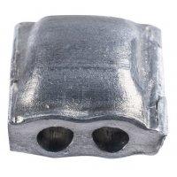 Plomben mit Knotenkammer aus Aluminium
