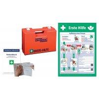 Erste-Hilfe-Koffer Basic Set mit Aushang, DIN 13157