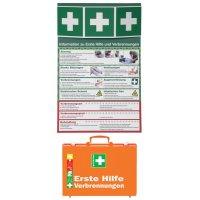 Erste-Hilfe Notfall-Sets, Brandverletzungen