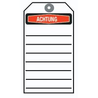 "Achtung – Anhängeetiketten ""Focus"""