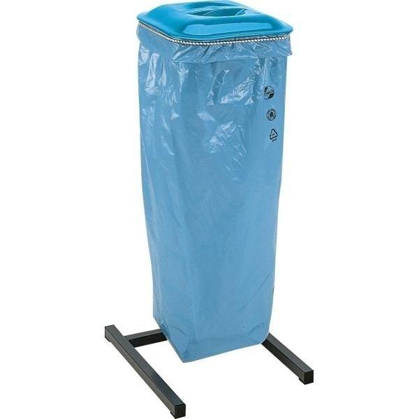 Abfall-/Wertstoffsammler mit farbigen Deckeln