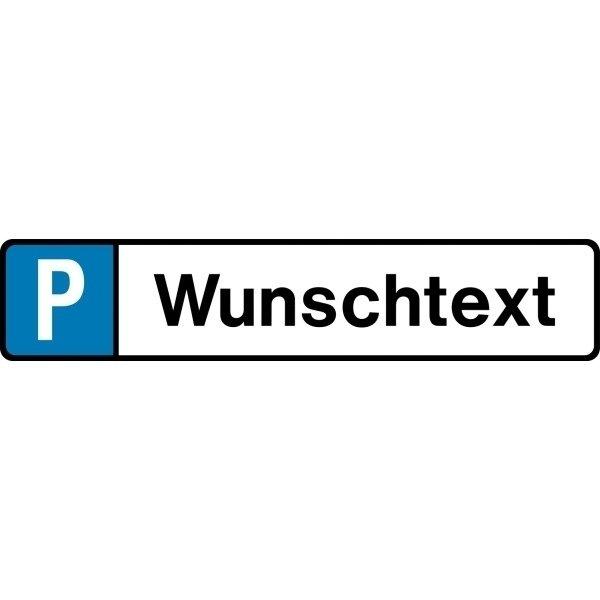 Parkplatz Reservierungsschilder für Parkstopps / Radstopper