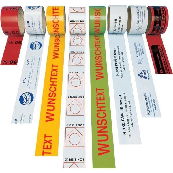 Verpackungsbänder, individuell bedruckbar