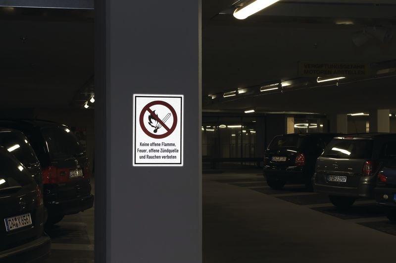 Betreten verboten - PREMIUM Kombischilder mit Sicherheitskennzeichen, retroreflektierend