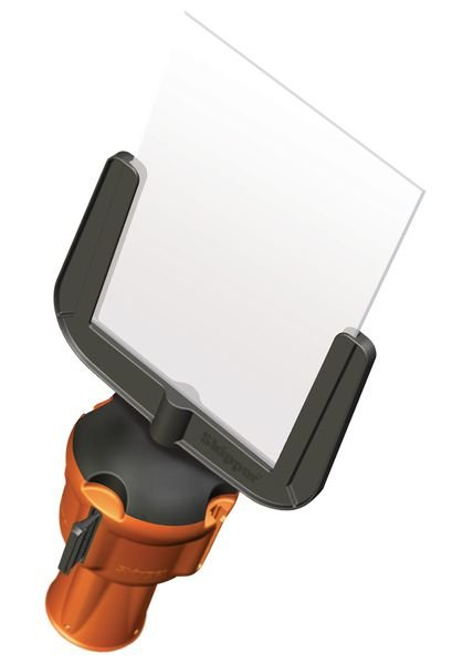 Schilderhalter DIN A4 für Skipper™ Absperrsysteme - Absperr- und Leitsysteme