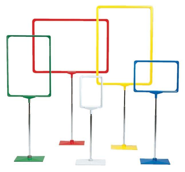 Palettenklemmer für Plakatrahmensysteme