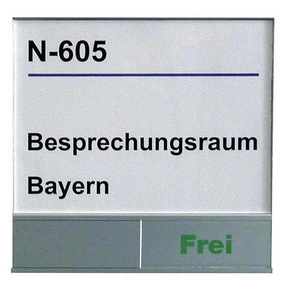 Schiebeschilder Frei/Belegt