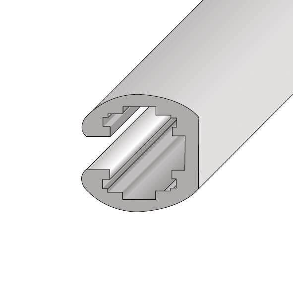 Einschubrahmen aus Aluminium