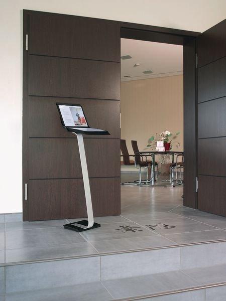 Sichttafel-Bodenständer Info-Comfort