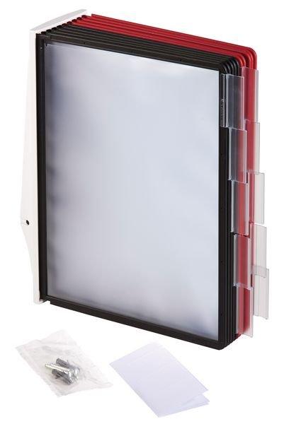 DURABLE Wandhalter für Kunststoff-Sichttafel-Systeme, massiv