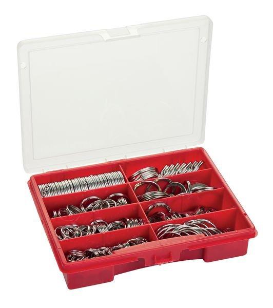 Stahl-Schlüsselringe Set