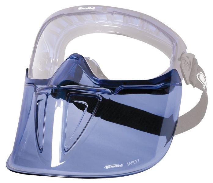 Visier für Vollsichtbrillen, Erweiterbar, gemäß EN 166