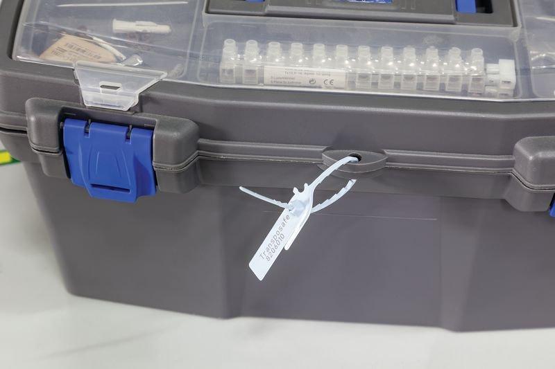 Sicherheitsplomben, Kunststoffplombe MINI FLEX SEAL - Verpackung und Transport