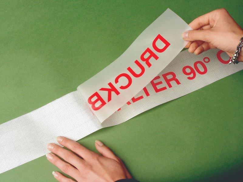 Montage-Silikonpapierrolle - Klebebuchstaben und Klebeziffern
