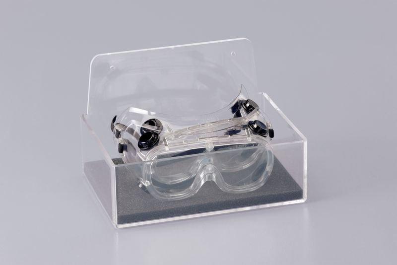 Augenschutz-Spender