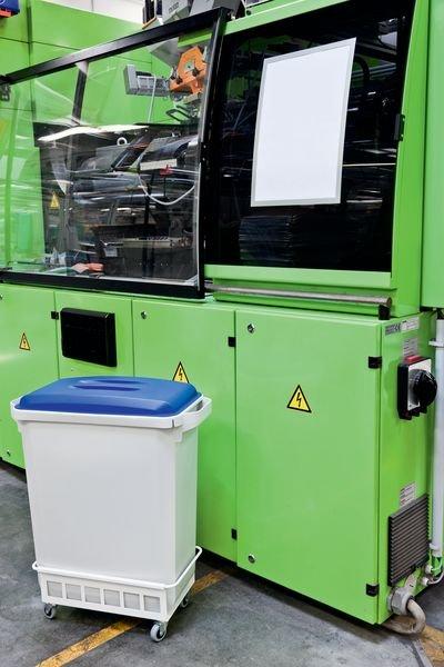 Wertstoffkennzeichnungs-Set für Wertstoffcontainer - Abfalltrennung