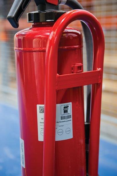 Fußständer für Feuerlöscher, mobil - Feuerlöscher und Zubehör