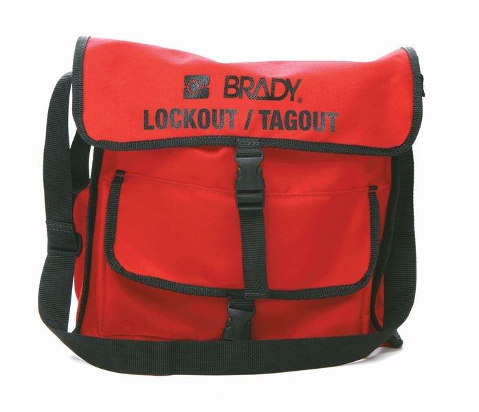 BRADY Lockout-Umhängetaschen, rot