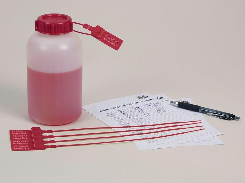 Kunststoffplombe für Universal-Weithalsflaschen, plombierbar