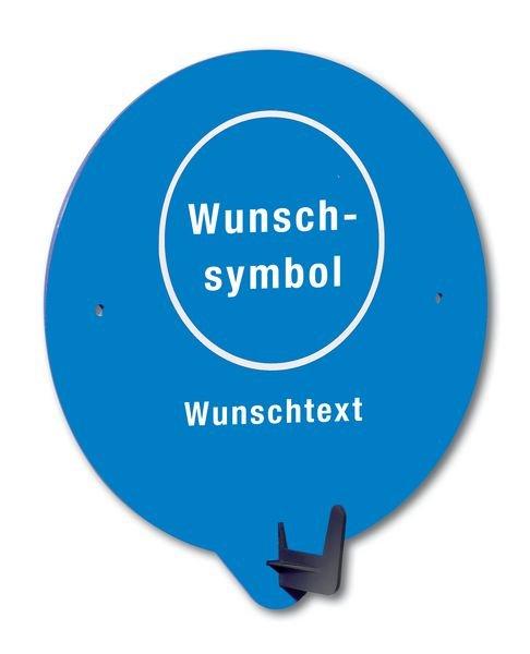 PSA-Haken mit Symbol und Text nach Wunsch