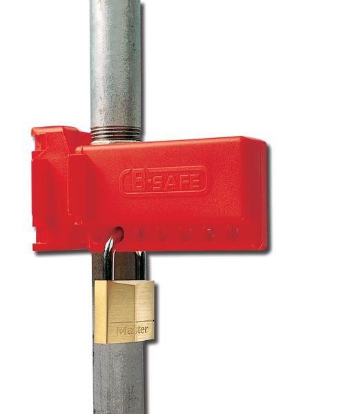 Kugelhahn-Arretierungen, EG-Richtlinie 89/655 - Kabel- und Ventil-Verriegelung