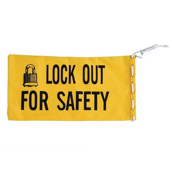 BRADY Lockout-Taschen, gelb
