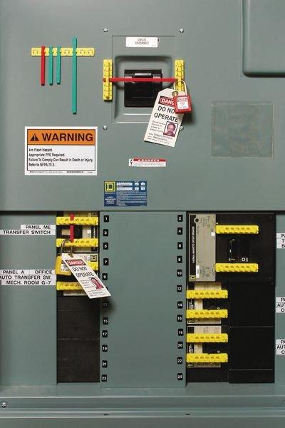 Schutzschalter-Verriegelungsset - Lockout-Tagout-Systeme