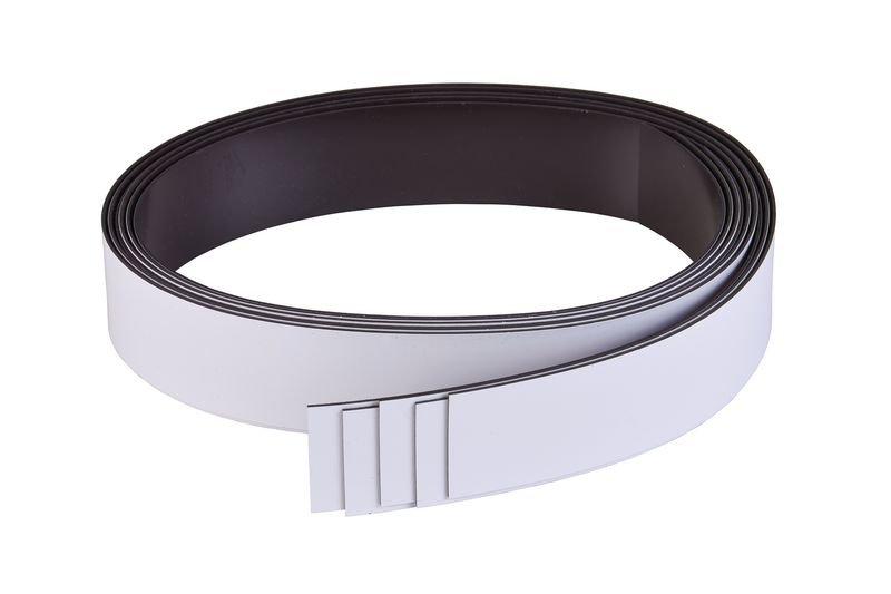 Magnetbänder, beschriftbar