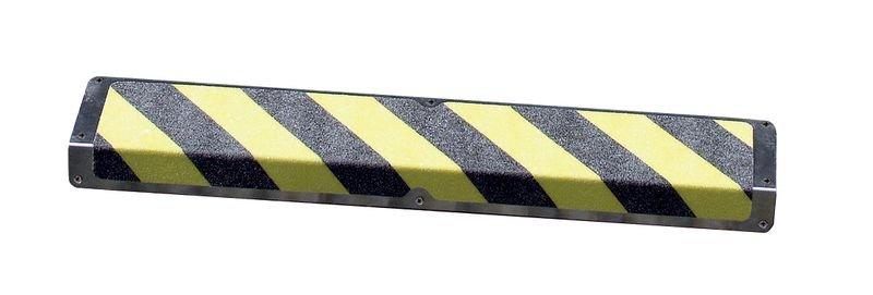 Antirutsch-Treppenprofile, Aluminium, R13 nach DIN 51130/ASR A1.5/1,2