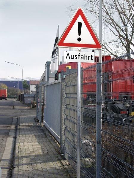 Rohrrahmen aus feuerverzinktem Stahl, achteckig, für Schweiz