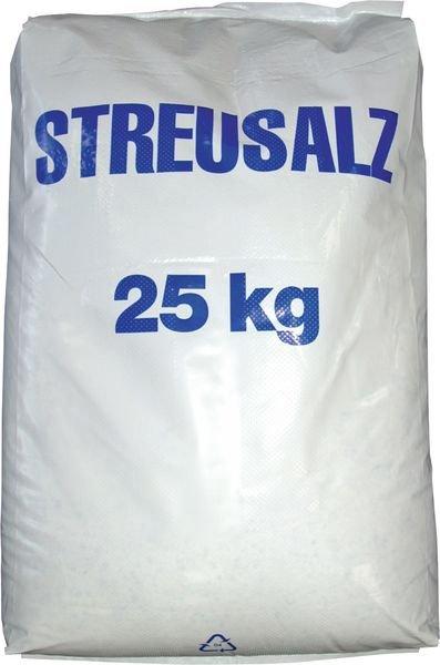 Streusalz, Streumittel gegen Glatteis, 25 kg Sack, DIN EN 16811-1