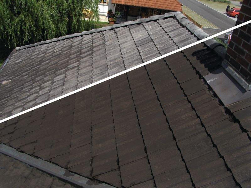Dach-Renovierungslack - Dichtfarbe