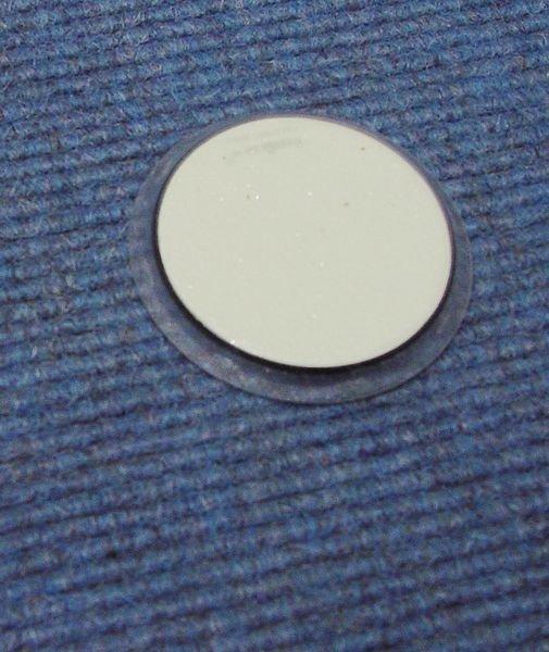 Everglow® Teppich-Bodenmarkierungspunkte - Fluchtwegkennzeichnung, bodennah, langnachleuchtend, ASR A3.4/3