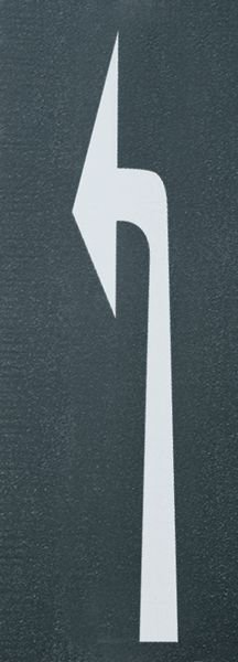Abbiegepfeil links – PREMARK Straßenmarkierungen, Symbole