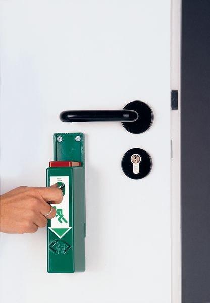 Funk-Alarm-Leuchte für Einhand-Funk-Türwächter mit Voralarm