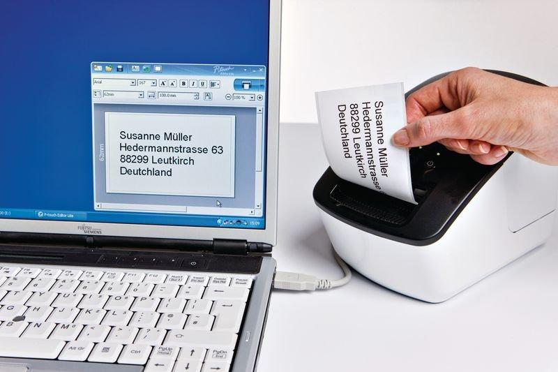 Brother Thermo-Etikettendrucker QL-700 - Beschriftungsgeräte und Zubehör