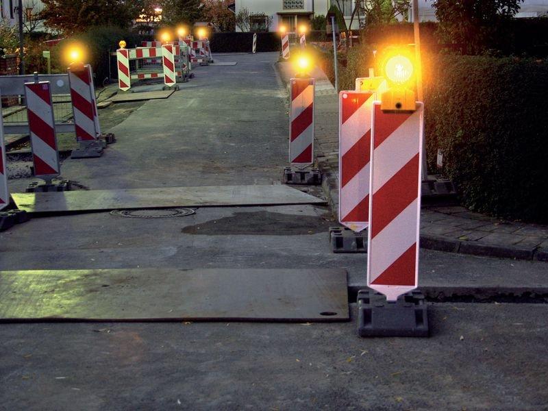 Fußplatte für Sicherheitsbaken - Leitkegel und Pylonen