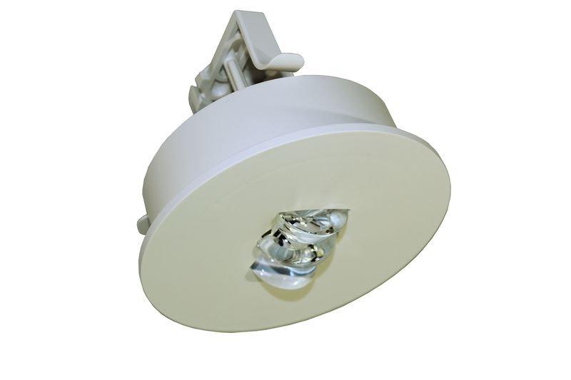 LED-Sicherheitsleuchten für Deckeneinbau ILE, DIN EN 60598-1, DIN EN 60598-2-22 und DIN EN 1838