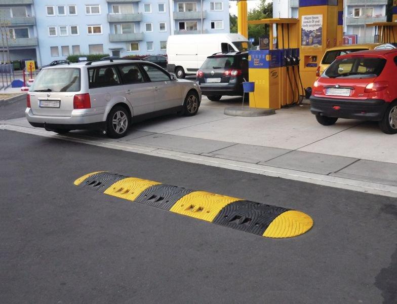 Mittelstück für 5 – 10 km/h - ECO Bodenschwellen zur Verkehrsberuhigung