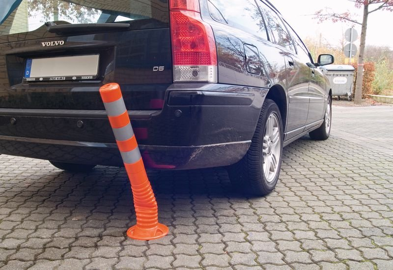Verbot der Einfahrt – Verkehrszeichen für ECO Leitpfosten-Schilderhalter