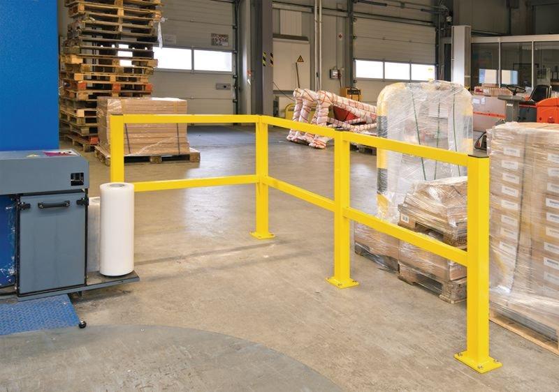Tür für Rammschutz-Geländer für Laufwege - Kantenschutz und Rammschutz