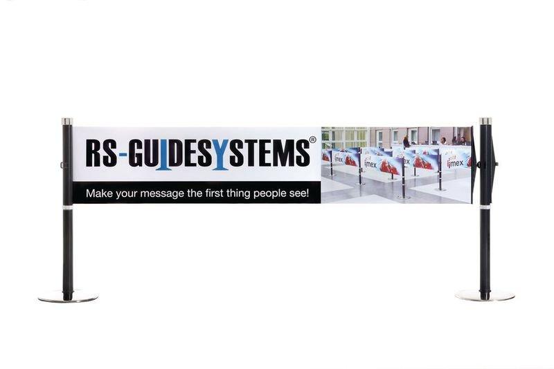 Dummy-Pfosten für Banner-Absperrsysteme