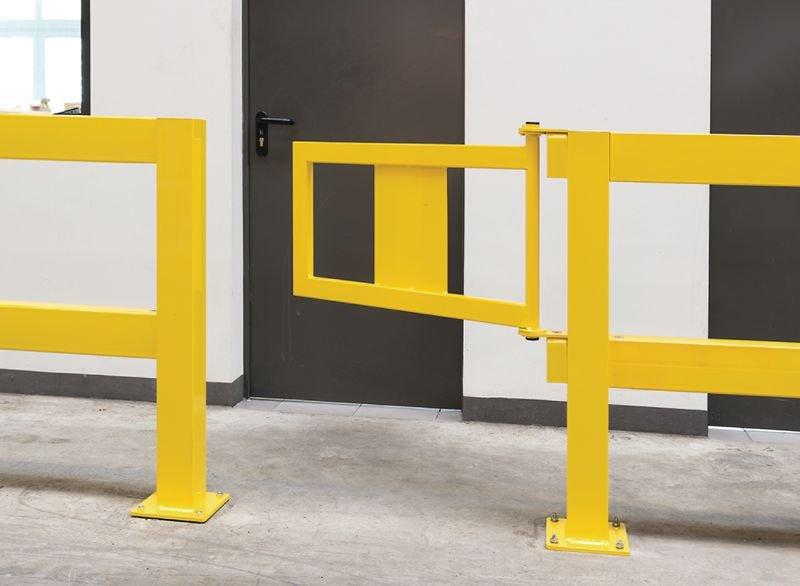 Tür für Rammschutz-Geländer für Laufwege