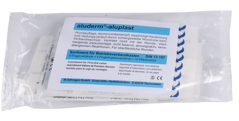 SÖHNGEN aluderm®-aluplast Fingerverband - Erste-Hilfe-Nachfüllmaterialien