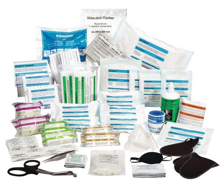 SÖHNGEN Erste-Hilfe-Koffer Spezial und Nachfüllpackungen für Großhandel und Lagerei, DIN 13157